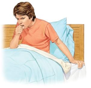 Больной с аллергическим кашлем