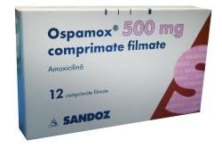 Оспамокс - препарат на основе амоксициллина