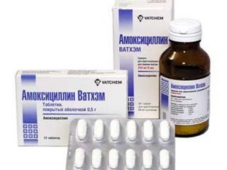Препарат Амоксицилин при гайморите