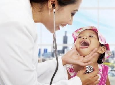 Гнойники на миндалинах без температуры у ребенка
