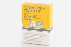 «Флемоксин Солютаб» для лечения кашля
