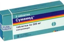 «Сумамед» для лечения кашля