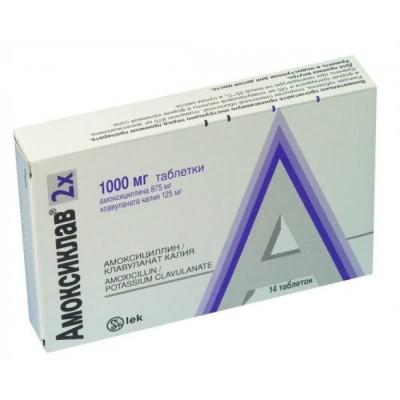 гайморит лечение таблетки