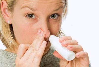 Промывание носа солевым раствором для лечения гнойного ринита
