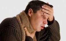 Насморк и больное горло