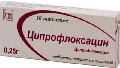 антибиотик при бронхите у детей ципроксацин