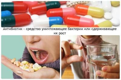 Антибиотики при мокром кашле