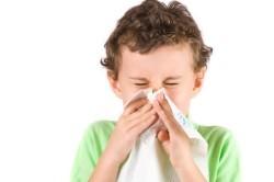 Сильный насморк - симптом пневмонии