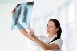 Рентгенологическое исследование легких при пневмонии