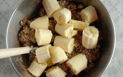 банан и какао от кашля