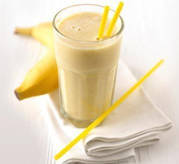 банан какао молоко от кашля