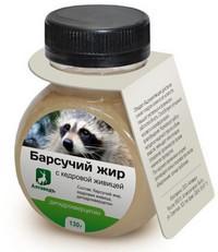 Лечение бронхита барсучьим жиром