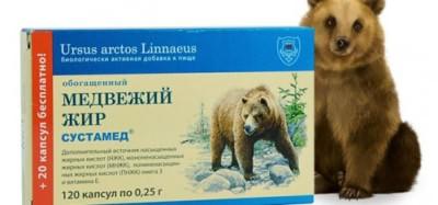 Медвежий жир при лечении кашля