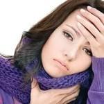 грипп и горло