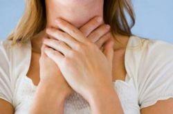 болит горло при грудном вскармливании