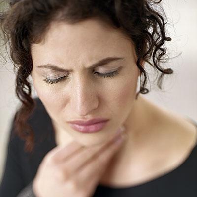 Болит горло, больно глотать