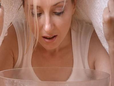 Ингаляция паром в домашних условиях при гайморите