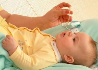 детские капли в нос при заложенности