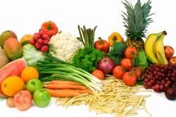 Употребление фруктов и овощей при пневмонии