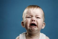 Частый плач - причина отита