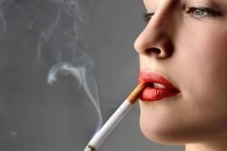 Курение - причина затяжного кашля