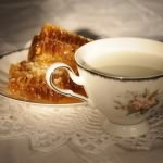 молоко с мёдом