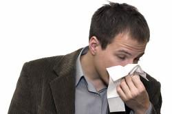 Насморк - симптом пневмонии