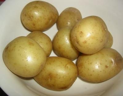 дышать паром картошки