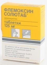 Антибиотик флемоксин