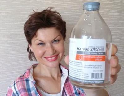 промывание Хлоридом натрия носа ребёнку