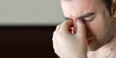 Рецидивирующий гайморит у мужчины