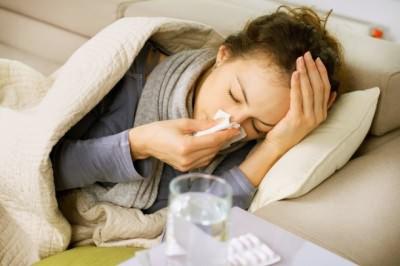 Грипп - причина насморка