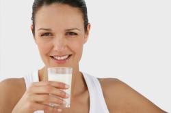 Прием молока при кашле