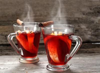 рецепт глинтвейна от простуды