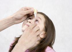 чем закапать глаза ребенку гноятся