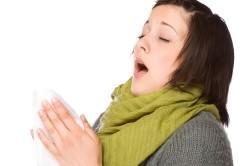 Чихание - симптом простуды