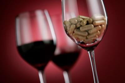 Лечение кашля горячим вином