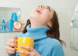 Полоскание горла для профилактики ОРВИ
