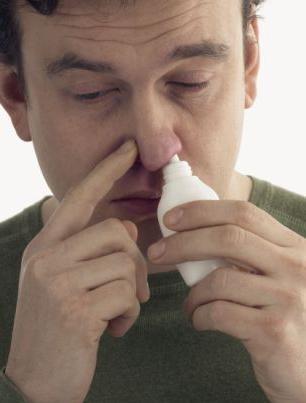месяц заложен нос