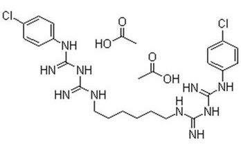 Химическая формула Хлоргескидина