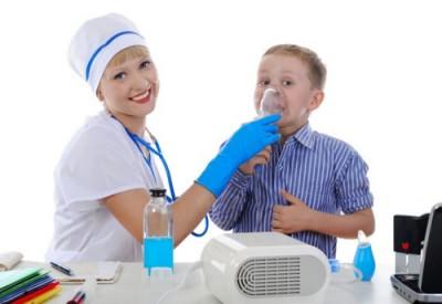 Лечение кашля при трахеите ингаляцией