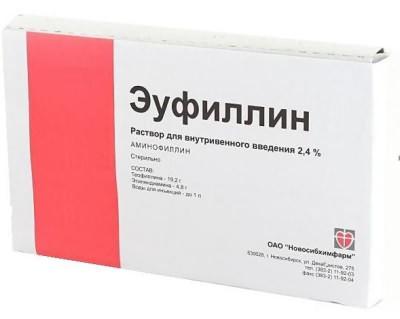 эуфиллин отзывы