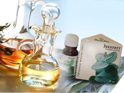 Эвкалиптовое масло от насморка