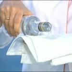 обтирание водкой при температуре