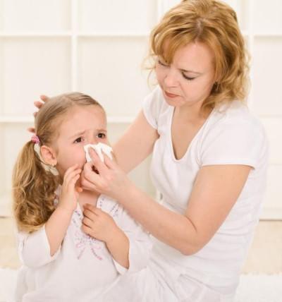 как лечить насморк у ребенка 2 лет