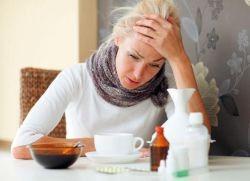 Может ли простуда вызвать задержку месячных