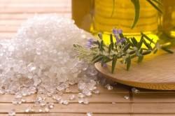 Промывание носа морской солью