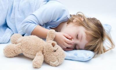 ребенок кашляет когда ложится спать