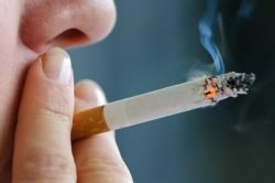 Курение одна из причин ночного кашля
