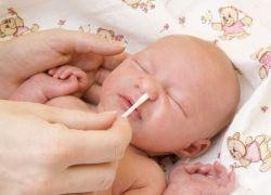 физраствор для промывания носа грудничкам